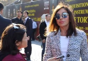"""Mehriban Aliyeva: """"Nothing should overlap the view of the fortress walls"""""""