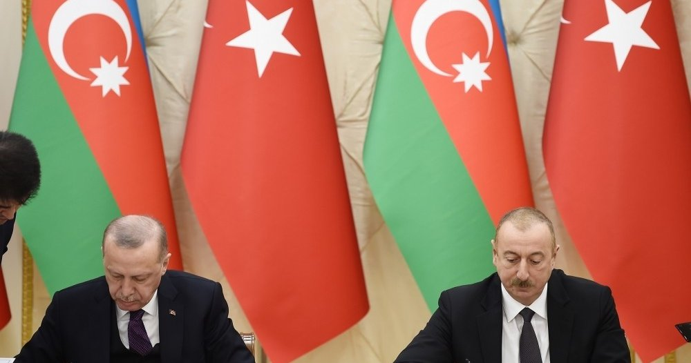 Erdoğan and Aliyev promise gas supply and trade improvements
