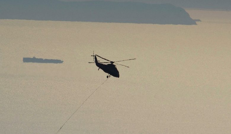 Two die in China helicopter crash