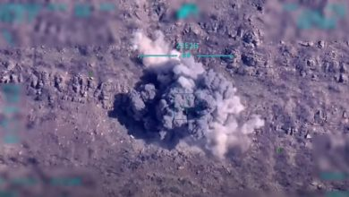 MoD releases footage of Turkish Army destroying well-known terrorist
