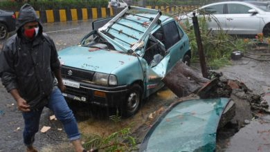 Around 40 people killed in cyclone in India
