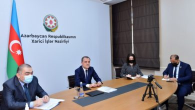 Azerbaijan's Foreign Minister holds discussions with UAE Minister of State
