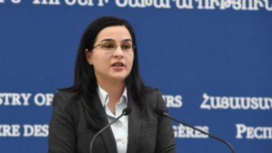 Former spokesperson for Armenian Foreign Ministry gets new job