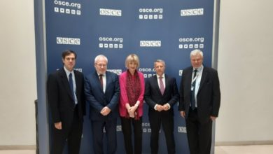 OSCE chief meets with Minsk Group co-chairs