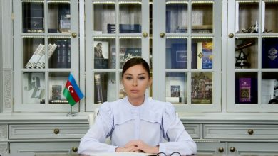 Mehriban Aliyeva shares post on Armed Forces Day