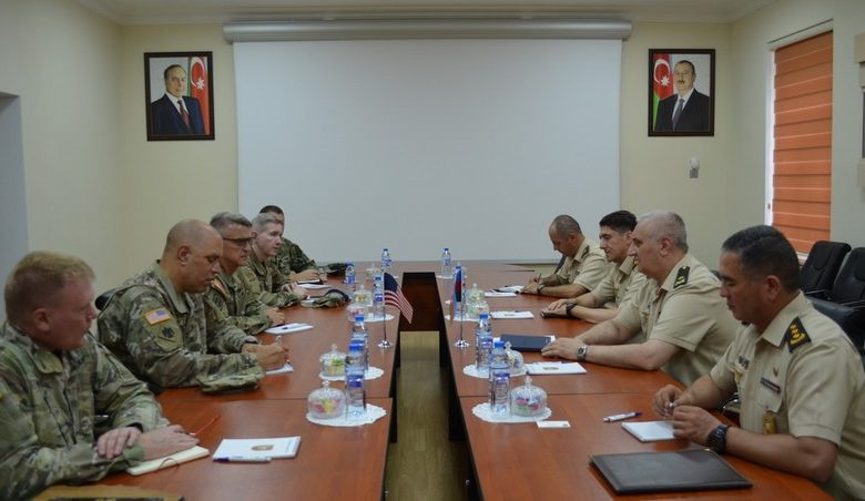 Cooperation between Azerbaijani Army and Oklahoma National Guard discussed