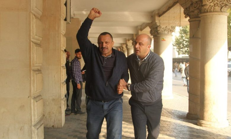 Tofig Yagublu's sentence has been modified to probation