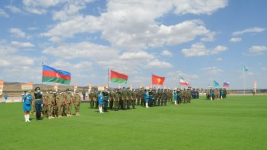 """Opening ceremony of """"Masters of Artillery Fire"""" contest held in Kazakhstan"""