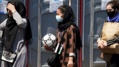 Taliban say women in Afghanistan will be banned from playing sport