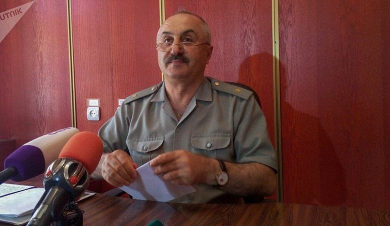 New first deputy chief of Staff of Armenian Armed Forces appointed