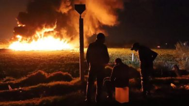 Explosion hits pipeline in Mexico
