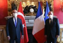 Turkish and French Foreign Ministers hold telephone conversation