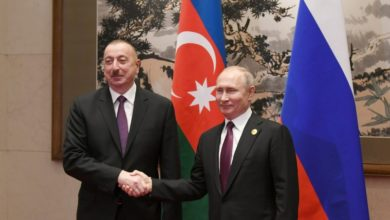 Ilham Aliyev congratulates Vladimir Putin on victory of ruling party in parliamentary elections