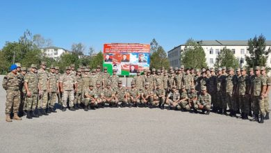 Azerbaijan Army conducts orienteering competitions among servicemen